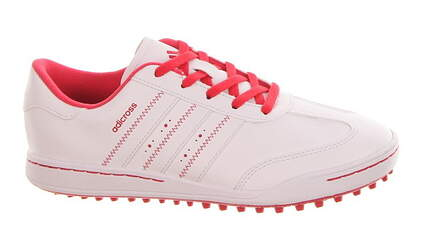 New Adidas Youth Adicross Junior Medium 6.5 White/Pink F33534 MSRP $72