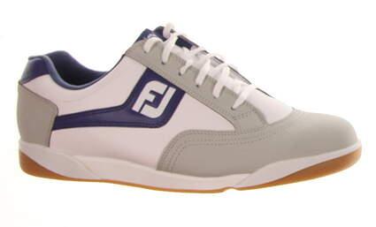 New Mens Golf Shoe Footjoy FJ Originals Wide 10 Gray MSRP $80 45346