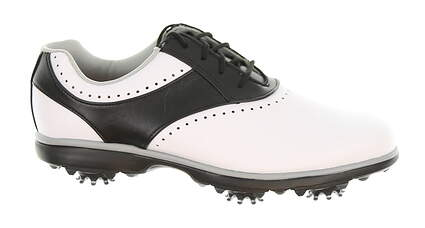 New Womens Golf Shoe Footjoy eMerge Wide 8 White/Black MSRP $90 91919