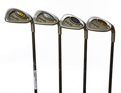 Ping i3 Blade Iron Set 8-PW GW Ping Aldila 350 Series Steel Senior Right Handed White Dot 36.5in