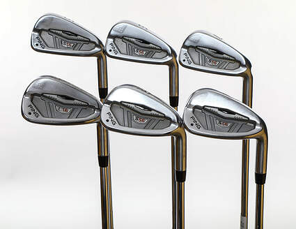 Ping S56 Iron Set 5-PW FST KBS Tour Steel Stiff Right Handed Black Dot 38.0in