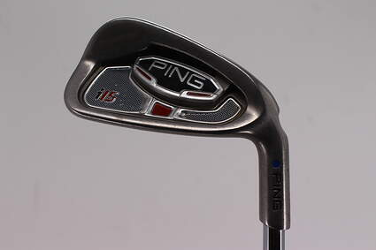 Ping i15 Single Iron 7 Iron Project X Rifle 5.5 Steel Stiff Right Handed Blue Dot 36.5in