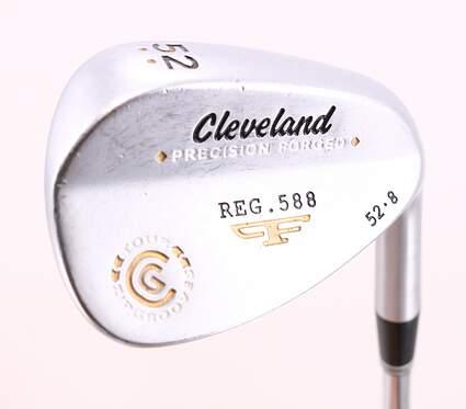 Cleveland 2012 588 Satin Wedge Gap GW 52° 8 Deg Bounce True Temper Tour Concept Steel Wedge Flex Right Handed 35.5in