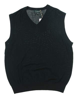 New Mens Fairway & Greene Golf Sweater Vest Medium M Green MSRP $110