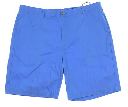 New Mens Vineyard Vines Summer Twill Golf Shorts 40 Bumini Blue MSRP $80 1H0213