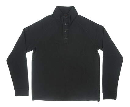 New Mens Greg Norman Sweater Small S Black MSRP $89 G7F6K019