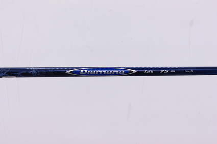 Used W/ Adapter Mitsubishi Rayon Diamana Kai'li 75 Driver Shaft Regular 42.25in