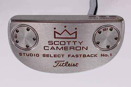 Titleist Scotty Cameron Studio Select Fastback 1 Putter Steel Right Handed 34.0in