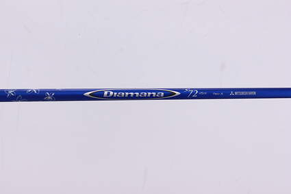 Used W/ Adapter Mitsubishi Rayon Diamana S+ 72 Hybrid Shaft X-Stiff 43.0in