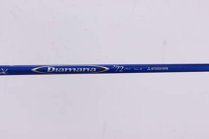 Used W/ Adapter Mitsubishi Rayon Diamana S+ 72 Hybrid Shaft Stiff 43.5in