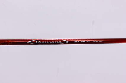 Used W/ Adapter Mitsubishi Rayon Diamana Ilima 60 Fairway Shaft Senior 39.75in