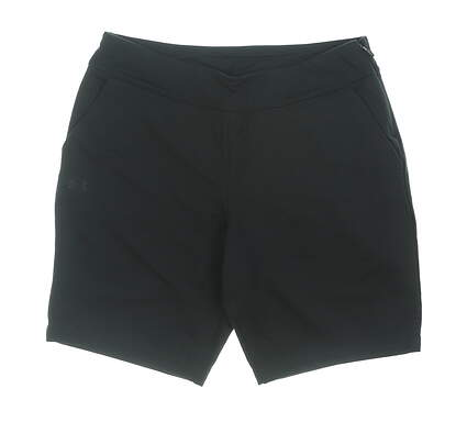 New Womens Under Armour Golf Shorts Medium M Black MSRP $75