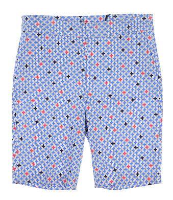 New Womens EP NY Tile Print Golf Shorts X-Large XL Multi MSRP $80 8210NBA