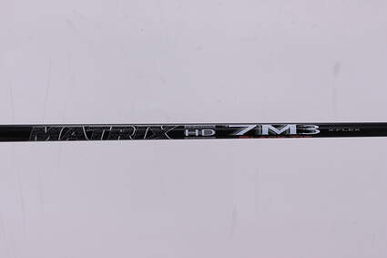 Used W/ Adapter Matrix Ozik 7M3 Black Tie Driver Shaft X-Stiff 44.75in