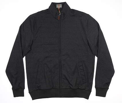 New Mens Fennec Micro Suede Jacket Medium M Black MSRP $230 182F523