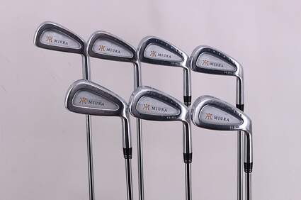 Miura CB-301 Iron Set 4-PW Project X Flighted 5.5 Steel Regular Right Handed 38.75in