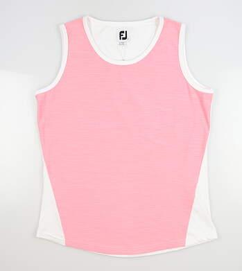 New Womens Footjoy Tank Top Medium M Pink MSRP $55 27453