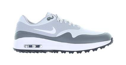 New Mens Golf Shoe Nike Air Max 1 G Medium 8.5 Gray MSRP $120 AQ0863