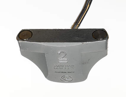 Guerin Rife Two Bar Mallet Offset Putter Steel Right Handed 32.0in