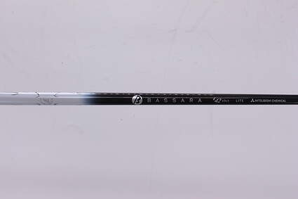 Used W/ Adapter Mitsubishi Rayon 2nd Gen. Bassara E-Series 42 Driver Shaft Senior 46.0in