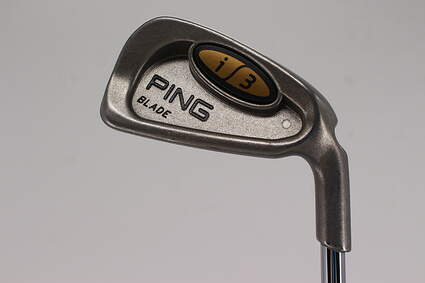 Ping i3 Blade Single Iron 3 Iron Ping JZ Steel X-Stiff Right Handed White Dot 38.75in