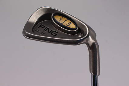 Ping i3 Blade Single Iron 9 Iron Ping JZ Steel X-Stiff Right Handed White Dot 35.75in