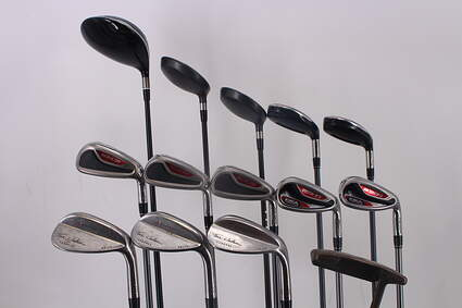 Mens ADAMS Complete golf Set Graphite Right Handed Regular