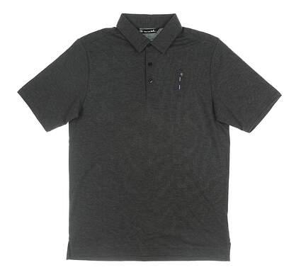 New W/ Logo Mens Travis Mathew Classy Polo Small S Gray MSRP $85 1MQ183NL