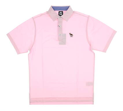 New W/ Logo Mens Footjoy Polo Small S Pink MSRP $90