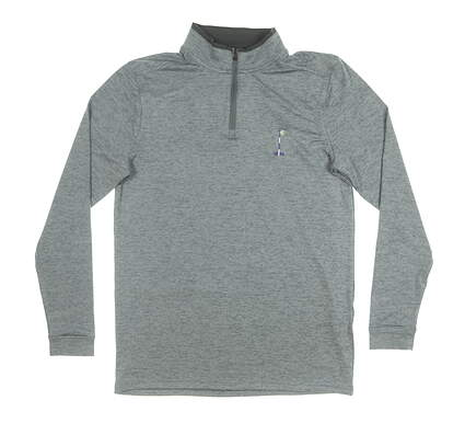 New W/ Logo Mens Under Armour 1/4 Zip Pullover Small S Gray MSRP $85