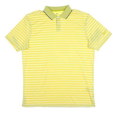 New Mens Nike Golf Polo Medium M Gold MSRP $75 CK4744