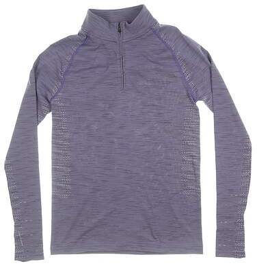 New Womens Under Armour Golf 1/4 Zip Pullover X-Small XS Purple MSRP $75