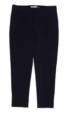 New Womens Peter Millar Pants Large L Blue MSRP $130 LF18B48
