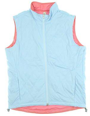 New Womens Peter Millar Vest Medium M Multi MSRP $129 MS19EZ23