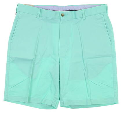 New Mens Peter Millar Golf Shorts 36 Mineral Green MSRP $98 MF18B13