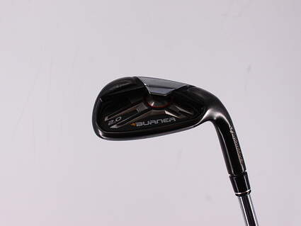 TaylorMade Burner 2.0 Single Iron Pitching Wedge PW TM Burner Superfast 85 Steel Regular Right Handed 35.5in