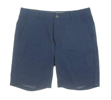 New Mens Under Armour Golf Shorts 40 Navy Blue MSRP $75 UM2360