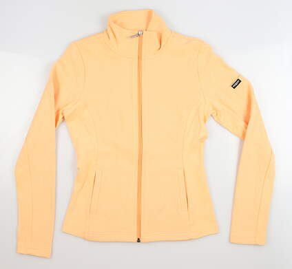 New Womens Straight Down Swing Jacket X-Small XS Orange MSRP $96 W60118