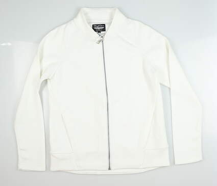 New Womens Straight Down Arya Jacket Small S White MSRP $108 W60305