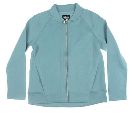 New Womens Straight Down Arya Jacket Medium M Blue MSRP $108 W60305
