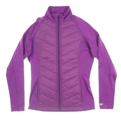 New Womens Straight Down Nova Jacket X-Small XS Purple MSRP $112 W60271