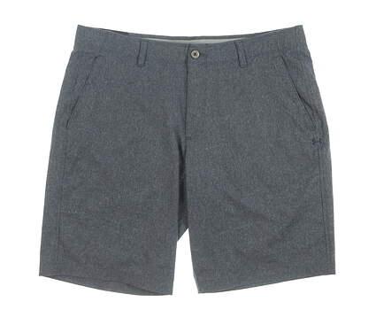 New Mens Under Armour Golf Shorts 38 Gray MSRP $75 UM2360