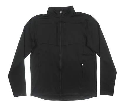 New Mens Straight Down Golf Jacket Medium M Black MSRP $92 60486