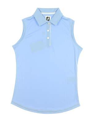 New Womens Footjoy Sleeveless Golf Polo X-Small XS Blue MSRP $65 27075