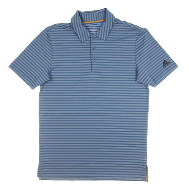 New Mens Adidas Ultimate 365 Polo Small S Blue MSRP $75 CD3362