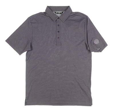 New W/ Logo Mens Travis Mathew Golf Polo Medium M Purple MSRP $70