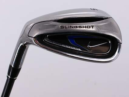 Nike 2010 Slingshot Single Iron Gap Wedge GW Nike UST Mamiya Graphite Regular Left Handed 35.5in