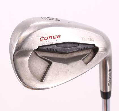 Ping Tour Gorge Wedge Gap GW 52° Standard Sole Stock Steel Shaft Steel Wedge Flex Right Handed Black Dot 35.75in