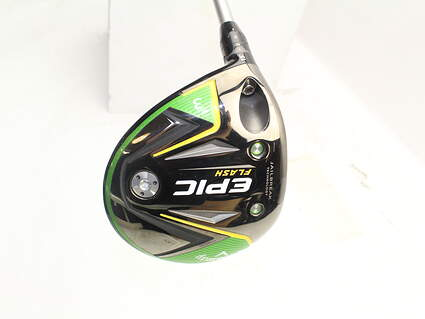 Callaway EPIC Flash Fairway Wood 3 Wood 3W 15° Mitsubishi Tensei CK 65 Blue Graphite Regular Left Handed 43.25in