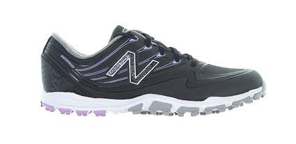 New Womens Golf Shoe New Balance Minimus SL Medium 7.5 Black/Purple MSRP $85
